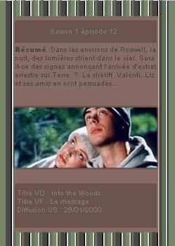 # DeliciousRoswell ___________ Article Episode 1x11 & 12  -------------------- Création / Décoration / inspiration