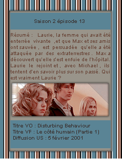 # DeliciousRoswell ___________ Article Episode 2X13  -------------------- Création / Décoration / inspiration