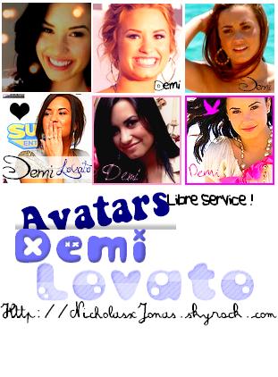 A r t i c l e      1       __  Avatars Changeants ! Demi Lovato ;)