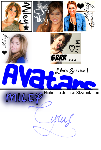 Article 3 . Avatars Miley x) '