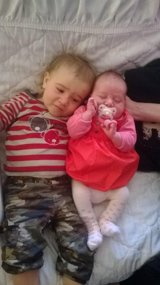 nos 2 bébé