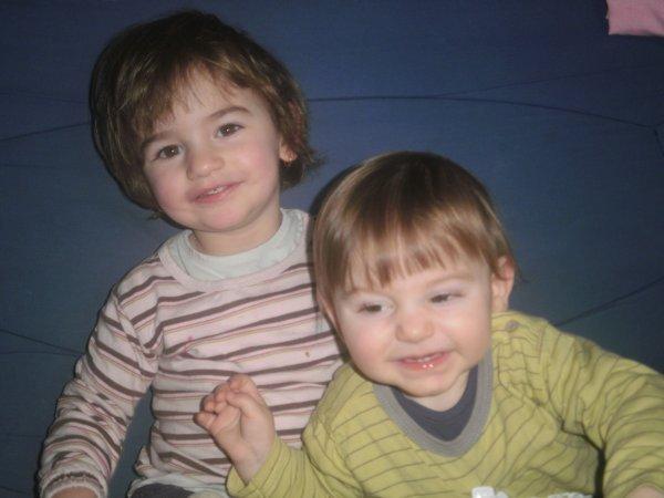 mes petits enfants et moi