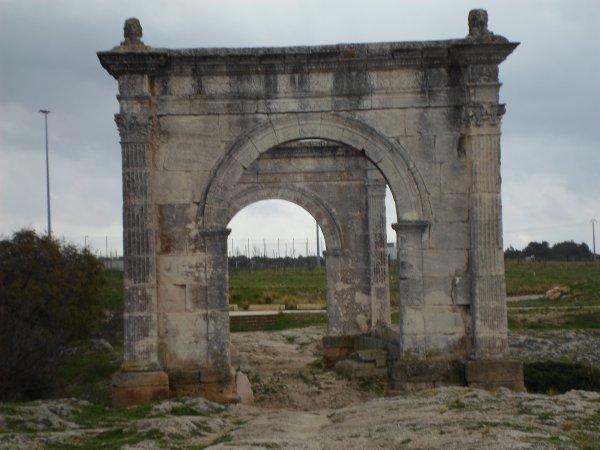 ST   CHAMAS    PONT    FLAVIEN     PONT   ROMAIN