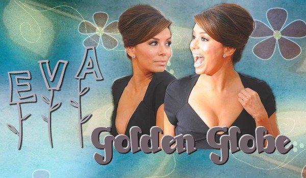 . Dimanche 16 Janvier 2011.Eva était au Golden Globe à Los Angeles. Elle est vraiment magnifique ♥.Voir la robe d'Eva