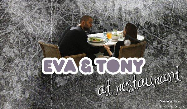 .Mercredi 1 Décembre 2010 .Eva & Tony ont été aperçu dans le restaurant d'un hôtel de Santa Monica. Ils se seraient retrouvé pour parler de leur divorce..