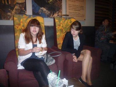 De belles rencontres dans le café :)
