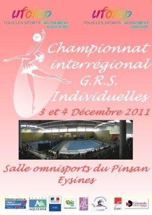 Interrégional Individuelles 2011- Eysines (33)