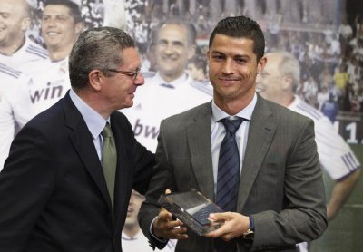 Le Real Madrid féte la Coupe du Roi