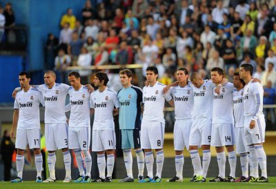 Real Madrid vs Villarreal      15/05/11