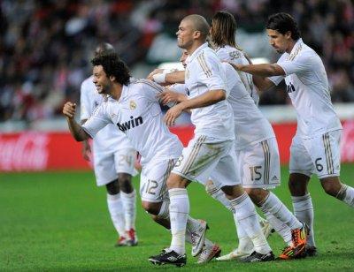 Real Madrid vs Sporting Dijon