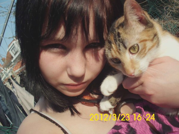 Mon chat & Moii