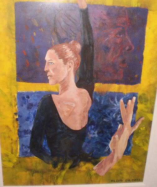 Acrylique sur papier 2011 (55x65 cm)