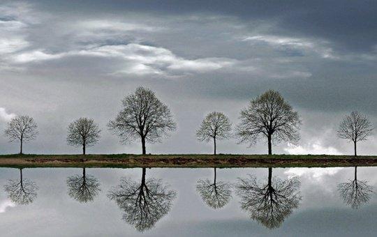 Belles images reflet miroir bon mardi amiti et partage for Reflet dans le miroir