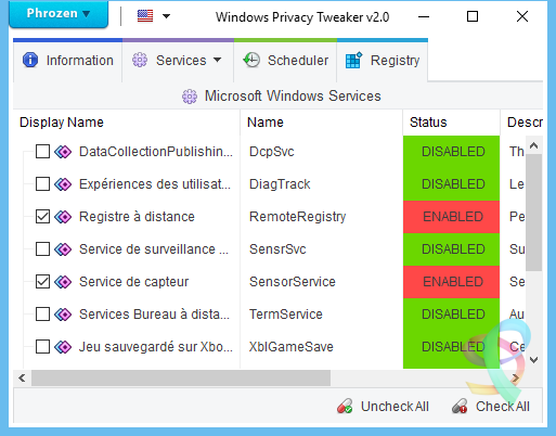 logiciels espions dans windows 10
