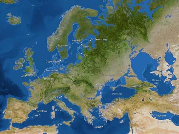 Terrifiant ! Voici à quoi ressemblera le monde une fois que toute la glace aura fondu (vidéo)