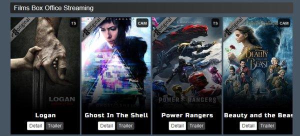 Logan/ LA BELLE ET LA BÊTE/ Power Rangers /Ghost In The Shell/ (2017) films streaming VO