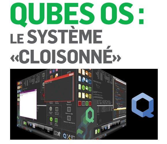 QubesOS – Un OS cloisonné