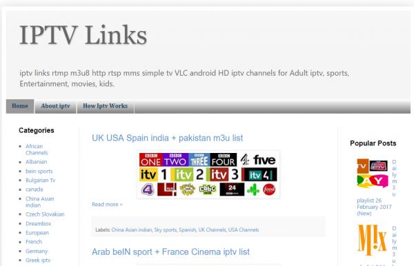 IPTV Links : Suivi des mises à jour