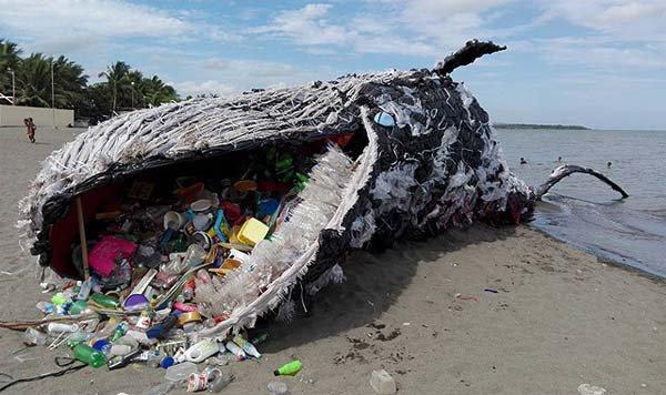 Cette Baleine échouée aux Philippines a choqué la planète entière.