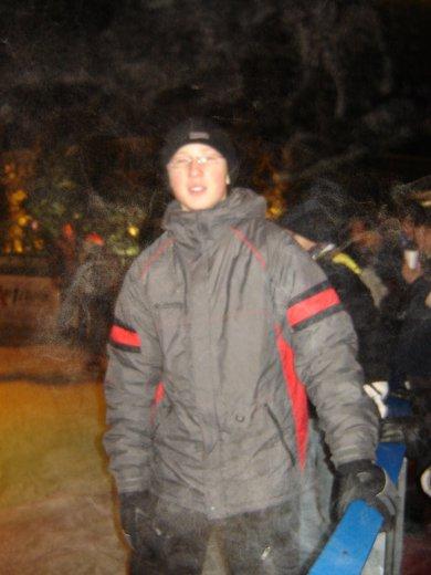 patinoir dans le noir
