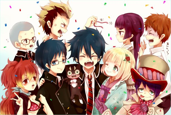 ☂️ AO NO EXORCIST  ☂️