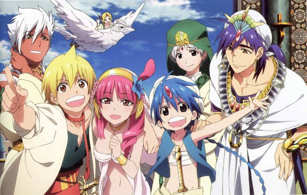  MAGI THE LABYRINTH OF MAGIC 