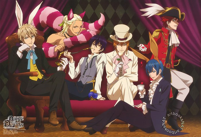 🍷 DANCE WITH DEVILS 🍷