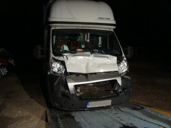 ACCIDENT CONTRE UN SEMI