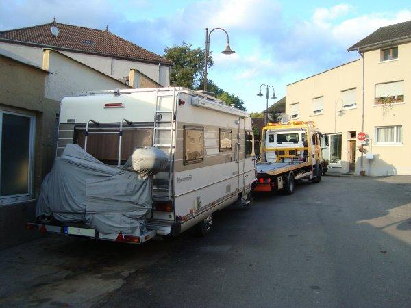 CAMPING CAR  BOITE DE VITESSE BLOQUEE