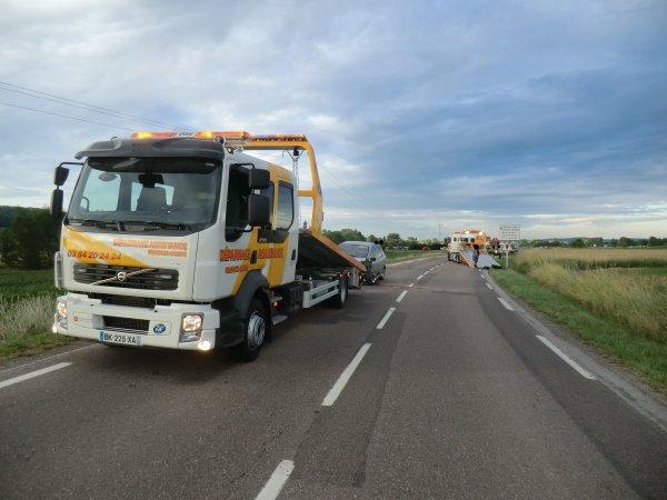 Accident a Montigny-lès-Vesoul