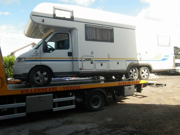 CAMPING CAR 6 ROUES 3 ESSIEUX