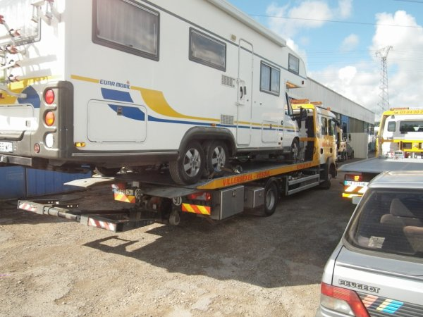 TRANSPORT CAMPING CAR 6 roues