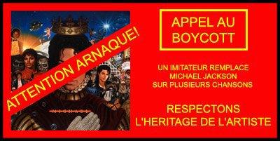 """APPEL AU BOYCOTTE DE L'ALBUM """" M I C H A EL"""" !"""