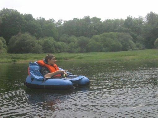 premierre sortie en float tube