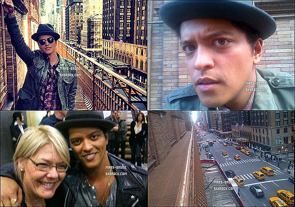 . Voici de nouvelles photos de Bruno postées via twitter et instagram .