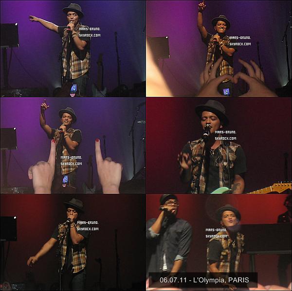 . \ FLASHBACK / Voici pour vous quelques photos, de tous les concerts solo que Bruno Mars a effectué en France (3 concerts) ... Avez vous été a l'un d'entre eux ? Souhaiteriez vous y aller prochainement ? Pour ma part, oui j'aimerais vite y retourner .