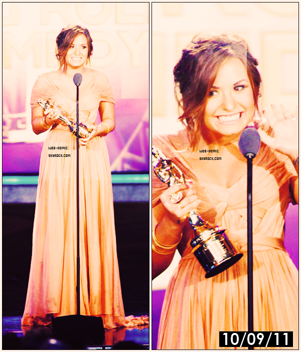 10 Septembre : Demi Lovato 2011 NCLR ALMA Awards