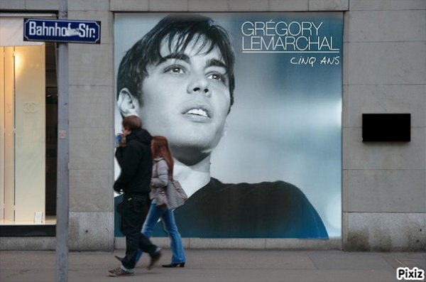 Grégory Lemarchal - 5 ans