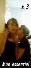 Ma Dubble ma confidente ma soeur mon bonheur mon sourire ma tristesse ma vie ma meilleure amie ma joie