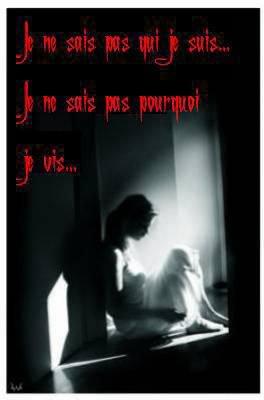 """"""" mon bonheur, c'est la nuit, le noir, les étoiles et mon ange gardien"""""""