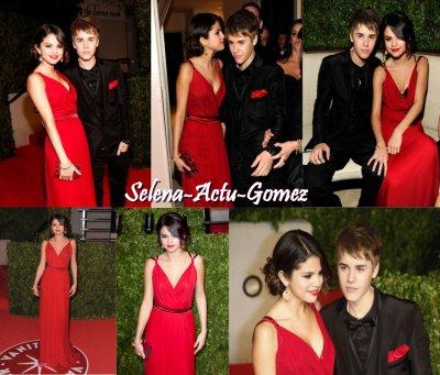 Selena c'est rendu au Vanity Fair Oscar Party