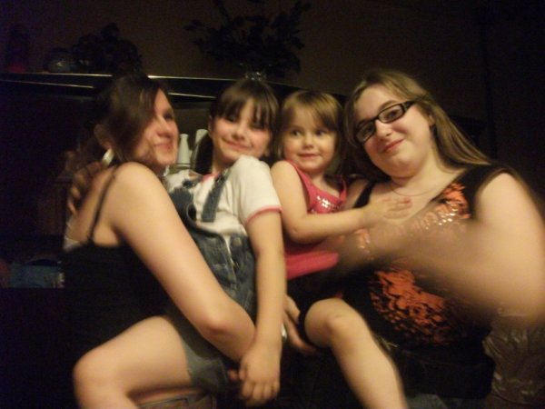 moi ma filleule mes deux tite cousine
