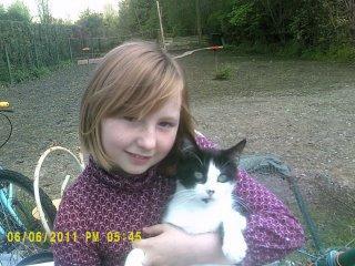 moi avec mon chat