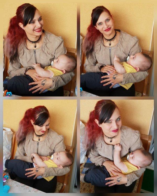 Tit bébé et moi 5mois