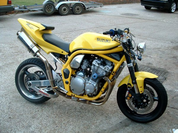 Suzuki Bandit Swingarm Conversion