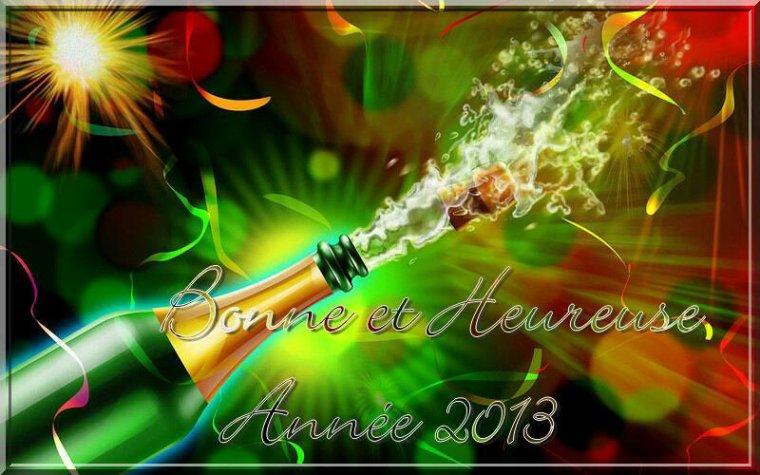 PASSER DE BONNE FETE  DE FIN D ANNEE 2012