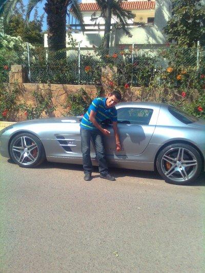 Mercedes SLS AMG au maroc enfinn