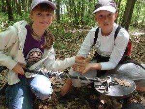 Initiation de deux jeunes aventuriers