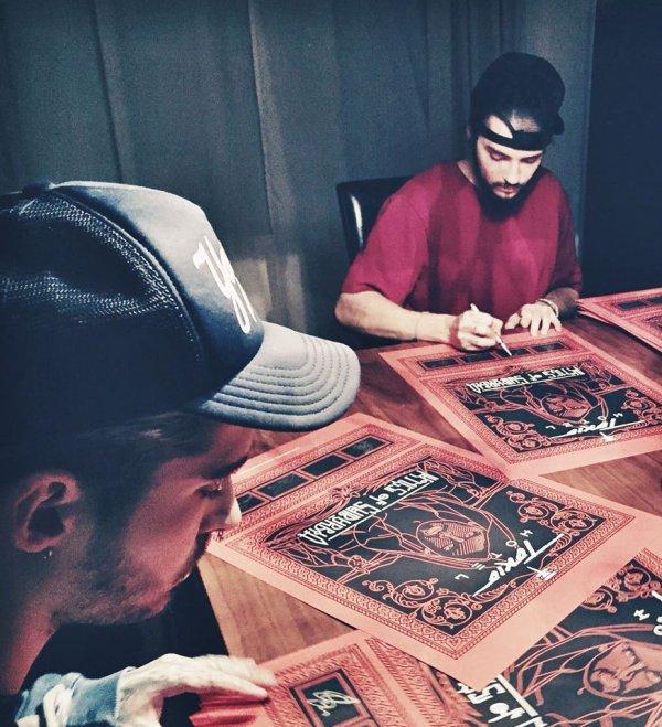 Tokio Hotel-17H-Affiches