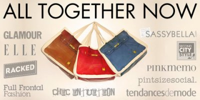 Together Bag in Red